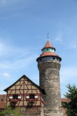 Nuremberg castle in Germany — Stockfoto