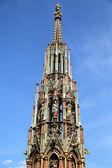 Beautiful Fountain in Nuremberg, Germany — Stock Photo