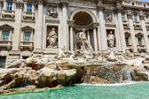Trevi fountain in Rome, Italy — Stock Photo