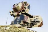 Anti aircraft rocket system — Stock Photo