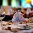 Wedding restaurant — Stock Photo