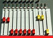 Studio mixer — Stock Photo