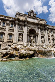 Trevi fountain in Rome, Italy — Photo