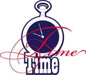 Time — Vector de stock