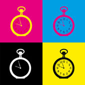 Time — Stock Vector