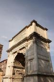 Arch of Titus in Roman forum, Rome, Italy — Stock Photo