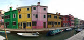 Île de Burano, Italie — Photo