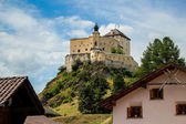 Schloss Tarasp in Switzerland — Stock Photo