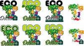 Eco doctor — Stock Vector