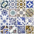 Traditional tiles from Porto, Portugal — Stock Photo #32233845