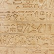 Egyptian hieroglyphics — ストック写真