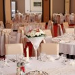 Wedding restaurant — Foto de Stock