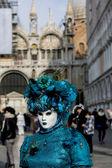 Tradycyjnych wenecki karnawał maska — Zdjęcie stockowe