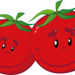 Stock Vector: Tomatoes