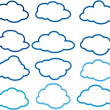 Clouds — Stock Vector #33171961