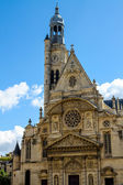 Church of St-Etienne-du-Mont in Paris, France — Stok fotoğraf