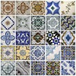 Traditional tiles from Porto, Portugal — Stock Photo #33694731