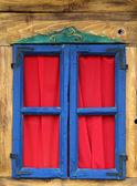 Kolorowe okna — Zdjęcie stockowe