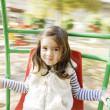 Little girl at playground — 图库照片 #34189763