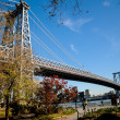 Manhattan Bridge in New York — 图库照片