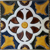 Traditional tiles from Porto, Portugal — Foto de Stock