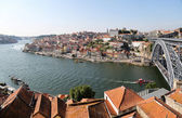 Douro river in Porto, Portugal — 图库照片