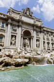 Trevi fountain in Rome, Italy — Foto de Stock