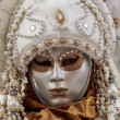 Venetian carnival mask — Stock Photo