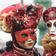 Stock Photo: Traditional venetian carnival masks