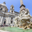 Piazza Navona in Rome, Italy. — Stock Photo #35427493