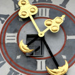 Detail of Uhrturm clocktower, Graz, Austria — Stock Photo