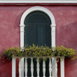 Venetian window — Stock Photo