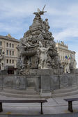 Piazza Unita in Trieste, Italia — Stock Photo