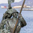 Bersaglieri monument in Trieste, Italy — Stock Photo
