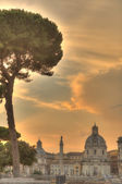 Sunset in Rome, Italy — Stock Photo