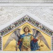 Saint Michael from St. Spyridon church in Trieste, Italy — Stock Photo #37646145
