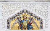 Saint Michael from St. Spyridon church in Trieste, Italy — Stock Photo