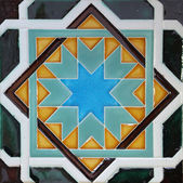 Traditional tiles from Porto, Portugal — Stock Photo