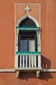 Fenêtre de venise, italie — Photo
