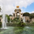 Stock Photo: Fountain in Parc De la Ciutadella in Barcelona, Spain