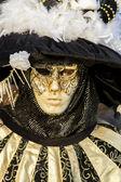 Venezianischen karneval maske — Stockfoto