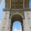 Arc de Triumph in Paris, France — Stock Photo #38186209