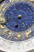 Astrological clock — Stock Photo