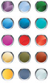 Glassy buttons — Stock Vector