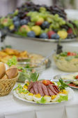 Food on the table — Stockfoto