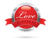 Love sign — Stock Vector