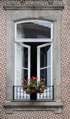 Window from Porto, Portugal — Stockfoto