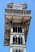 Santa Justa Lift in Lisbon, Portugal — Stockfoto