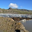 Iceland glacier — Stock Photo