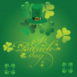 Stock Vector: Saint Patrick's Day